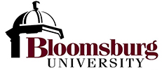 Bloomsburg University logo 231x100